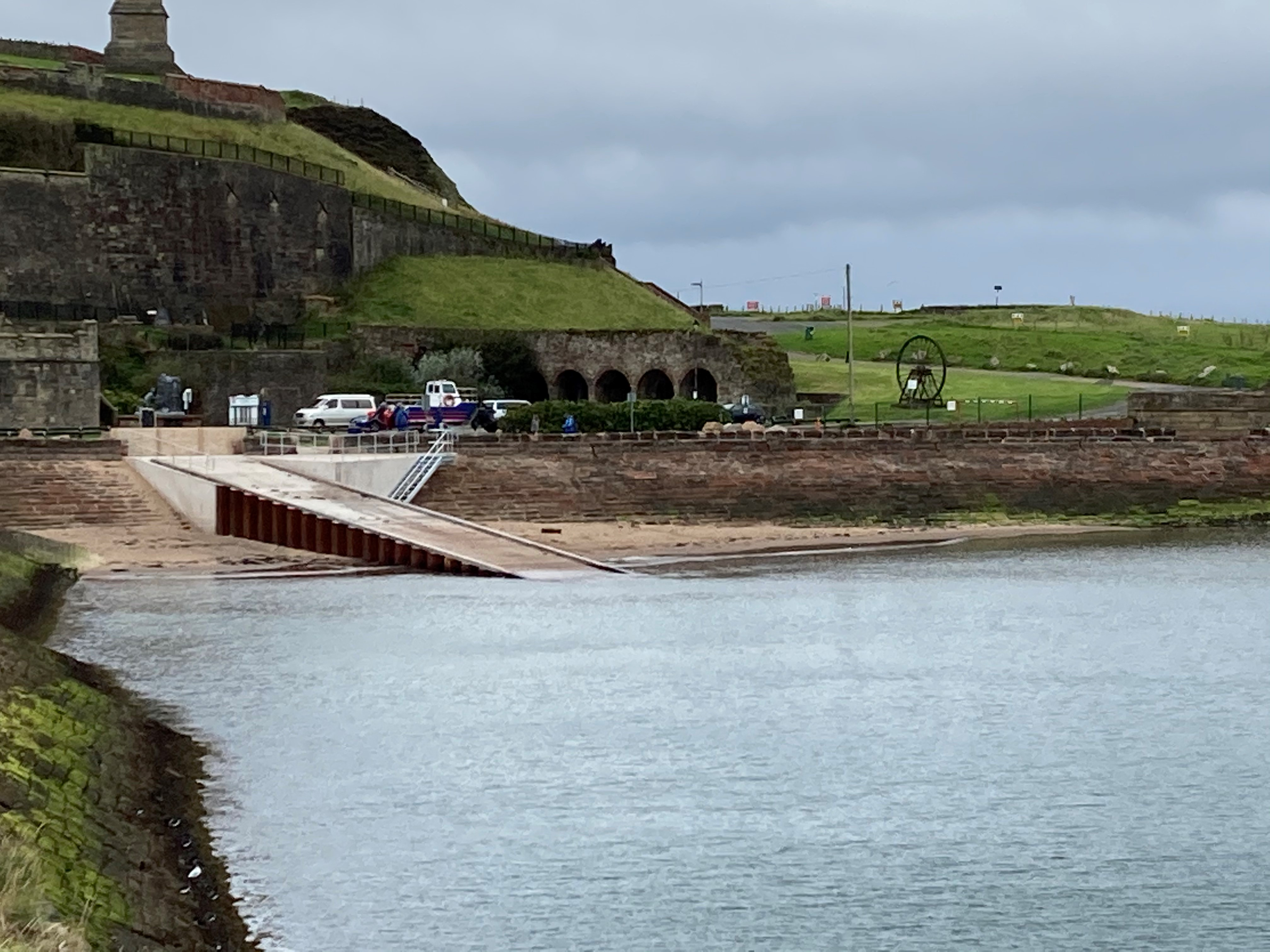 Phase Two of New Slipway Complete